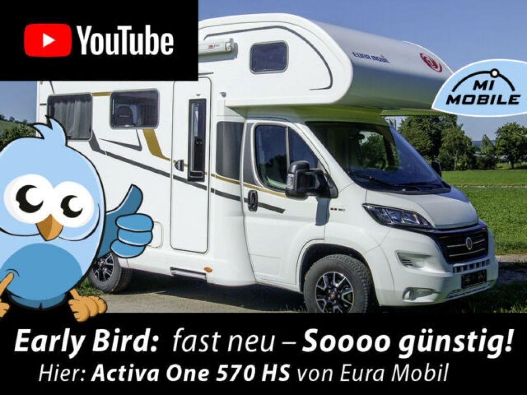 Eura Mobil Activa One 570 HS *Early Bird*LiveCam* - Bild 1