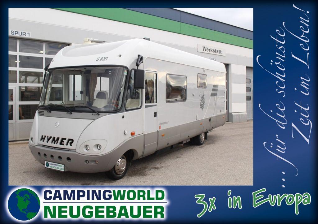 Hymer S-Klasse 820 ex DiabRenn - Bild 1